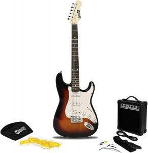 RockJam 6 String Electric Guitar Pack